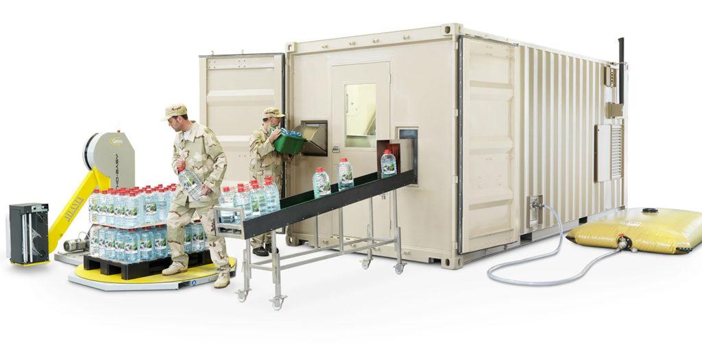 Conteno Smart PET bottling plants | PET bottling containers